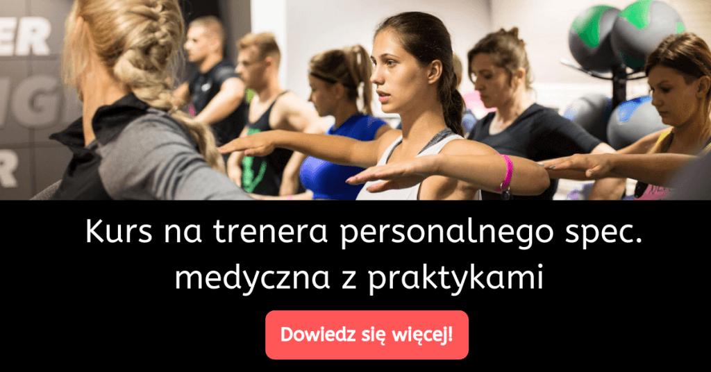 kurs na trenera personalnego z praktykami